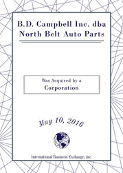 B. D. Campbell Inc. dba North Belt Auto Parts