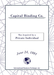 Capital Binding Co.