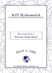 KST Hydromulch