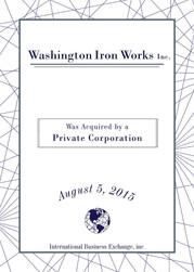 Washington Iron Works Inc.