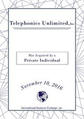 Telephonics Unlimited, Inc.