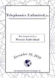 Telephonics Unlimited, Inc.