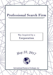 professional search firm