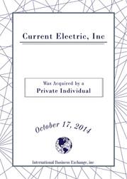 Current Electric, Inc
