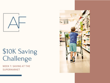 Savings Challenge - Week 7