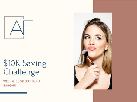Savings Challenge - Week 6