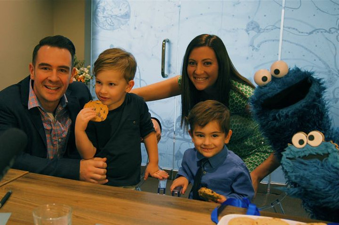 Our Mr 4 Interviewed Cookie Monster AND THEN......