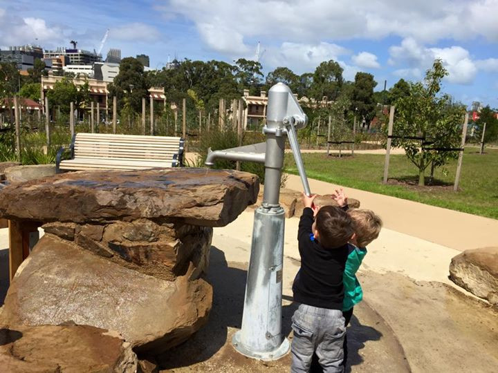 free water playground Melbourne