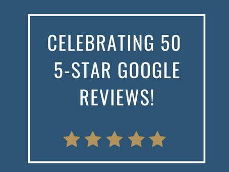 50 5-Star Google Reviews