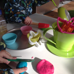 Playdoh with loads of toys