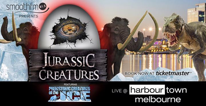 Jurassic Creatures at Harbour Town