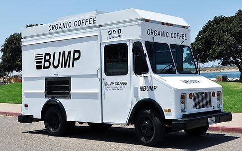 Matte White Food Truck Wrap w/ Gloss Black Logos