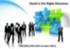 Business clipart professionals with chart