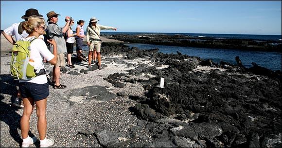 El turismo en Galápagos se recupera