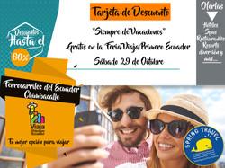 Feria #ViajaPrimeroEcuador
