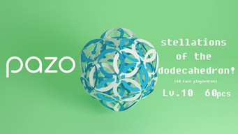 PAZO stellations of the dodecahedron