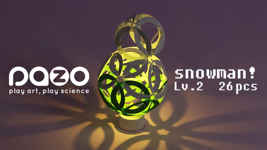 pazo snowman e-candle light tutorial