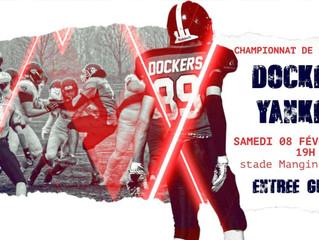 U19 National J3 : Dockers 14-37 Yankees