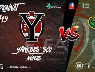 U19 National J4 : Yankees vs Caïmans