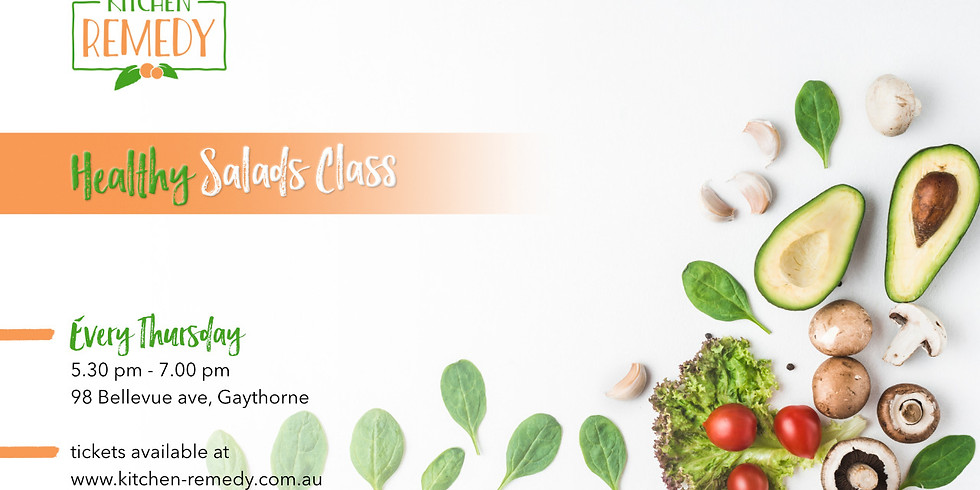 Healthy Salad Class