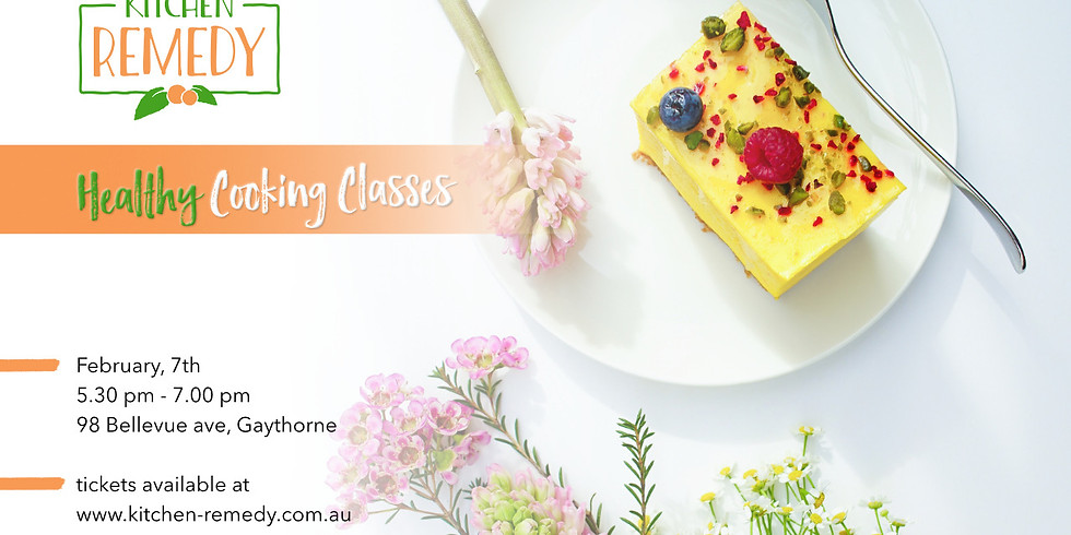 Healthy Sweets Class
