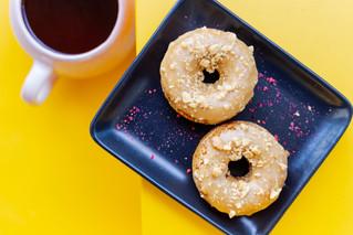 GF Peanut Doughnuts