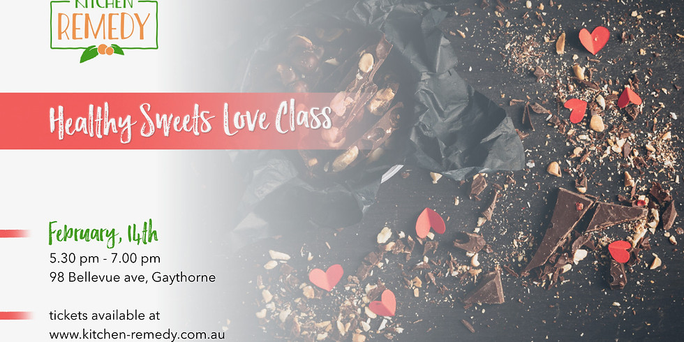 Valentines Healthy Sweets Class