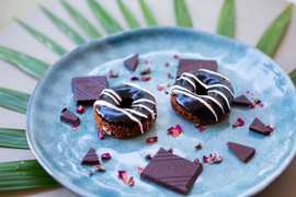 GF Chocolate Doughnuts