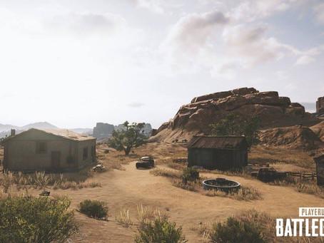 "Imagens divulgadas do mapa ""Deserto"" de Playerunknown's Battlegrounds"