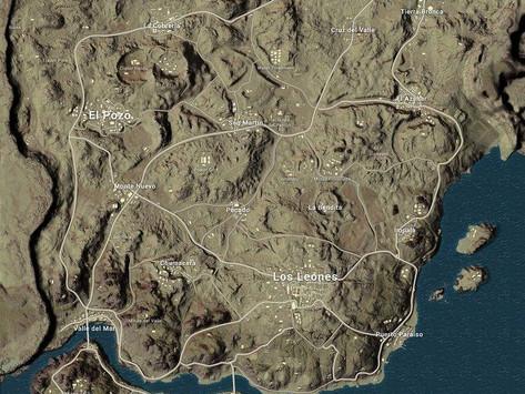 Novo mapa no PUBG: Miramar