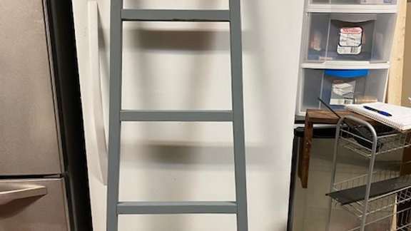 Blanket Rack (painted gray)