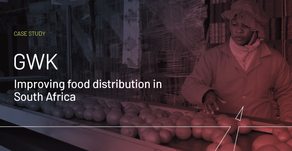 Improved food distribution in South Africa