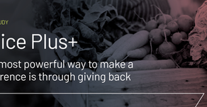 The most powerful way to make a difference is through giving back