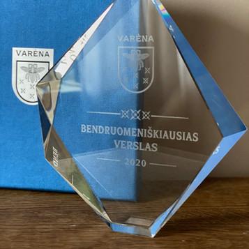 """UAB """"Staginis"""" - bendruomeniškiausias Varėnos rajono verslas"""