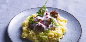 Švediški kukuliai su bulvių koše, vmg receptai