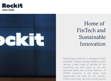 Rockit - fintech centras - atsinaujino