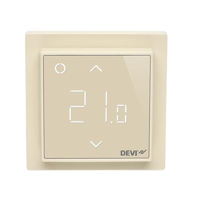 Termostatas DEVIreg™ Smart WiFi dramblio kaulo, +5...+45 °C, grindų+patalpos jutiklis, 16 A
