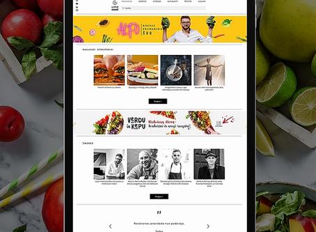 Atnaujintas populiariausias kulinarinis portalas VMGonline.lt