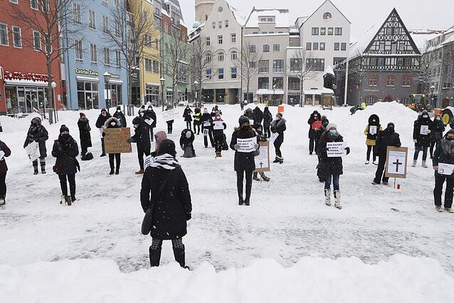 Verslininkų protestas Vokietijoje, koronavirusas