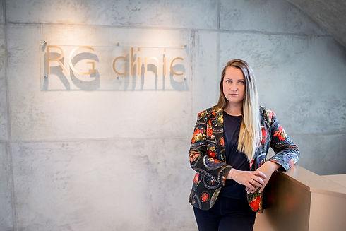 Karolina Niauraitė Golubovienė klinikos RG clinic vadovė