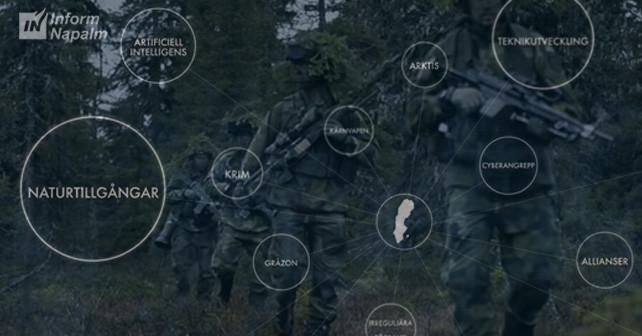 Vyriausiasis Švedijos ginkluotojų pajėgų vadas: Rusijos Federacija griauna Europos saugumo struktūrą