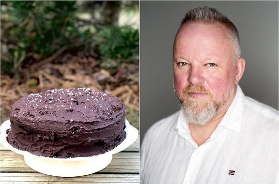 Juodojo šokolado ir tamsaus alaus tortas