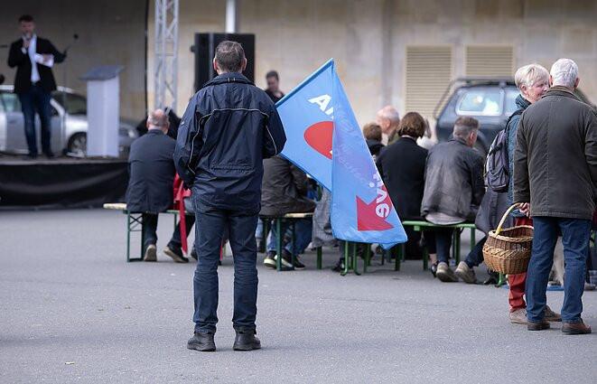 AfD partijos šalininkas Vokietijoje