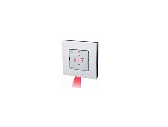 088U1082 Icon patalpos termostatas su ekranu, bevielis, virstinkinis  ir su infraraudonuju spinduliu grindu temperaturos juti
