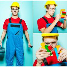 Lego statybininkas