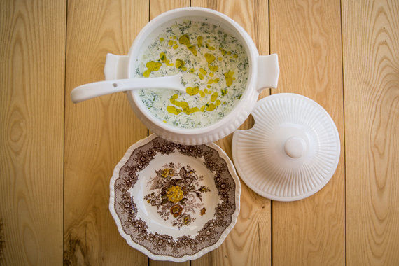 Turkiška jogurto šaltsriubė