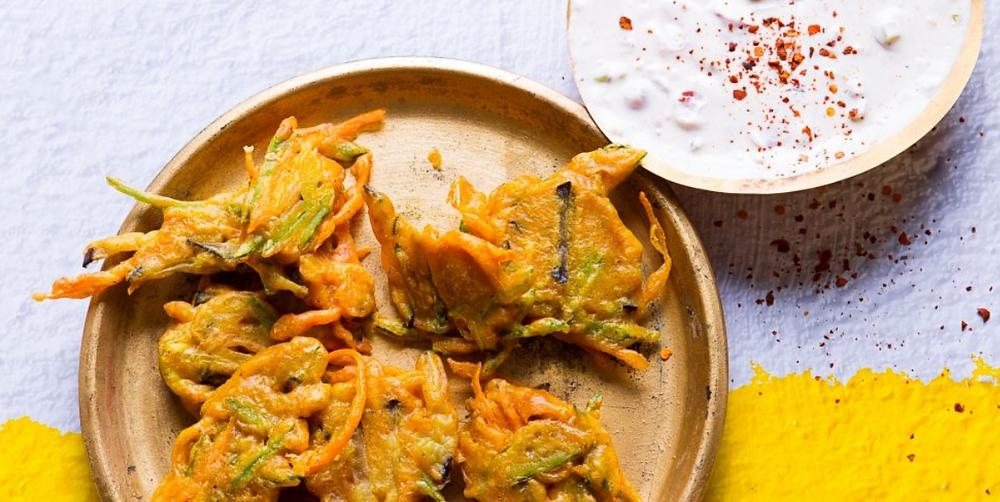 Daržovių bhaji, vmg receptai
