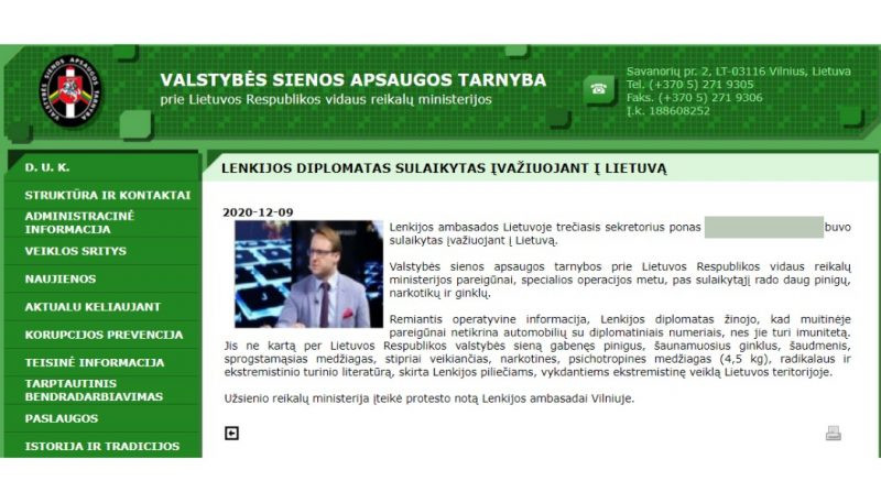A short review of the infosphere-based information targeting relations between Poland and Lithuania