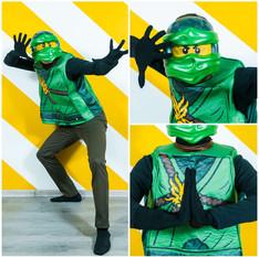 Lego Ninjago žalias
