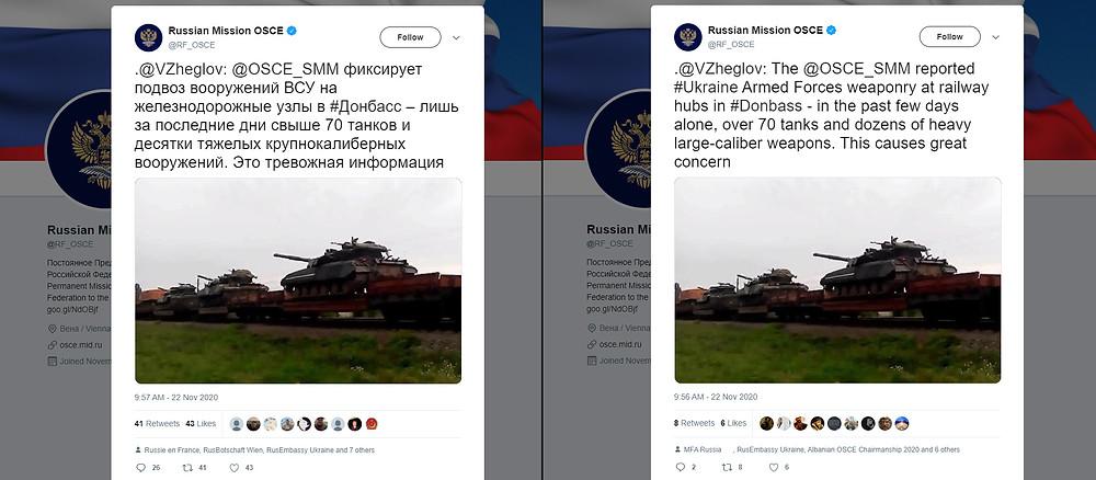 Kodėl Rusijos Federacijos atstovybė prie ESBO manipuliuoja?